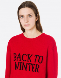 MAGLIONE ALBERTA FERRETTI OVER BLACK TO WINTER