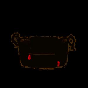 Portaoggetti per passeggino universale Ares Baby's Clan