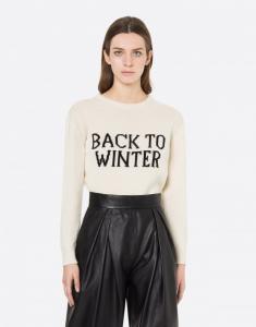 Maglione capsule black to winter