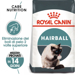 OFFERTA!!! ROYAL CANIN CAT HAIRBALL CARE 2KG + 2 BUSTE OMAGGIO!!!