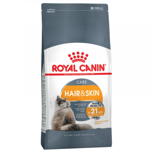 OFFERTA!!! ROYAL CANIN CAT HAIR & SKIN CARE 2KG + 2 BUSTE BEAUTY CARE OMAGGIO!!!