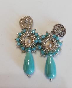 Orecchini cerimonia | vendita online bijou artigianali