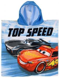 Poncho Cars Bambino dim.  50x100