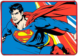Tovaglietta Americana Tessuto Superman
