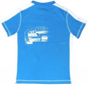 Lamborghini Boys Bi-colour Murcielago Sketch T-shirt