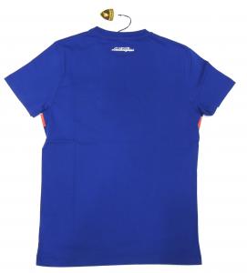 Lamborghini Men Tricolore SS T-shirt Royal Blue