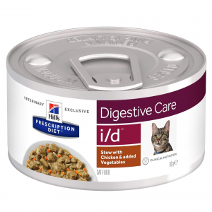Hill's - Prescription Diet Feline - i/d  Stew - 82g x 6 lattine