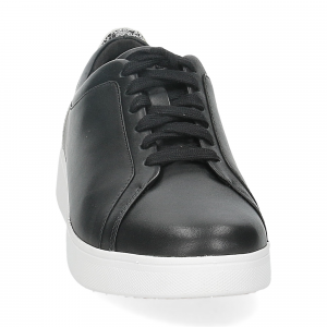 Fitflop Rally glitter sneaker all black mix-3