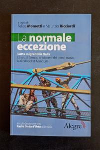 La normale eccezione - Lotte migranti in Italia. La gru di Brescia, lo sciopero del primo marzo, la tendopoli di Manduria