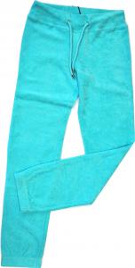 Lamborghini Ladies Terrycloth Long Pants Aqua