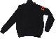Lamborghini Fleeced Bull LXIII Long Sleeve Zip Up Sweatshirt BLK