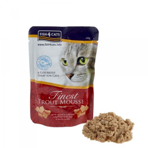 FISH4CATS MOUSSE TROTA GATTO 100G