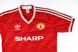 1986-88 Manchester United Maglia Home L (Top)
