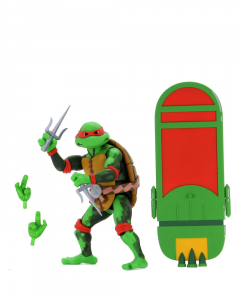 Teenage Mutant Ninja Turtles: Turtles in Time Action Figures Series 2 RAFFAELLO by Neca
