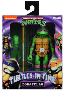 Teenage Mutant Ninja Turtles: Turtles in Time Action Figures Series 2 MICHELANGELO by Neca