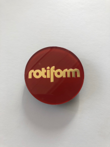 CAP Rotiform - lente originale Rotiform Candy Red/Gold