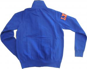 Lamborghini Men Fleeced Bull LXIII Long Sleeve Zip Sweatshirt