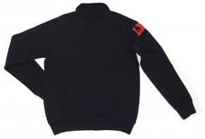 Lamborghini Men Bull Sleeve Zip Up Sweatshirt Navy