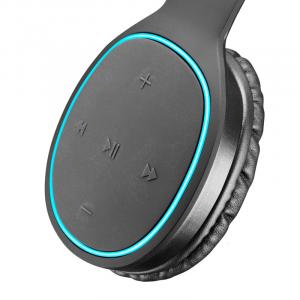 Cellularline Kosmos2 Cuffie Bluetooth Pump Bass con fast recharge Nero