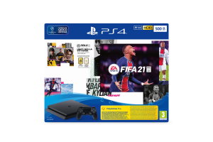Sony Playstation 4 Slim 500GB + Fifa 21 + FUT 21 VCH Nero Wi-Fi