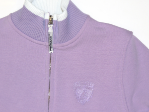 Lamborghini Girls Gallardo Zip Up Sweatshirt Lavender