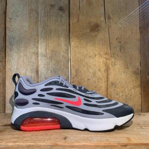 Scarpa Nike Air Max Exosense Grigia e Rosa Fluo