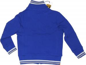 Lamborghini Boys Desert Shield Zip Up Fleece Sweatshirt Blu