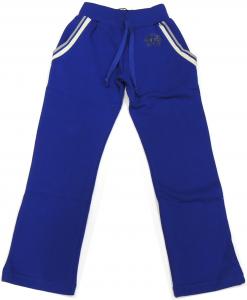 Lamborghini Boys desert Shield Fleeced Track-pants Blu