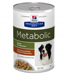 Hill's - Prescription Diet Canine - Metabolic Stew - 354g x 12 lattine