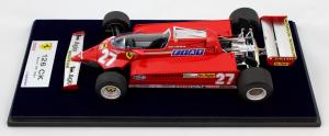 Ferrari 126 Ck 1981 Spain Gp Gilles Villeneuve 1/18