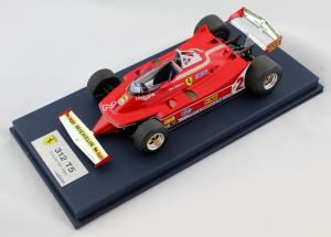 Ferrari 312 T5 Canada 1980 Gilles Villeneuve 1/18
