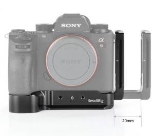 Staffa ad L per Sony A7RIII, A7III e A9 2122