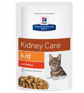 Hill's - Prescription Diet Feline - k/d - 85g x 12 buste