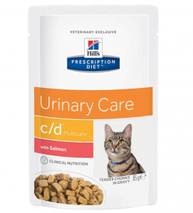 Hill's - Prescription Diet Feline - c/d - 85g x 12 buste