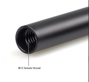 Coppia di Aste 6 Pollici in Alluminio 15mm - 1050
