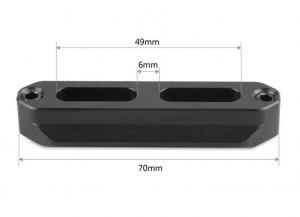 Binario di Sicurezza con Sgancio Rapido 7cm - 1195