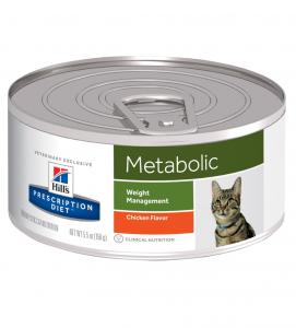Hill's - Prescription Diet Feline - Metabolic - 156g x 6 lattine