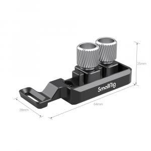Clamp per cavi HDMI eUSB-C per cage Canon R5 e R6 2981