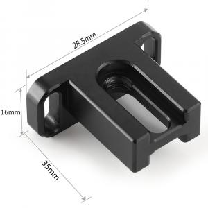 Supporto per adattatore obiettivi per Blackmagic  Pocket 4K 2247