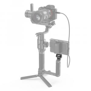 Supporto per monitor regolabile in rotazione e inclinazione con attacco a slitta 2905