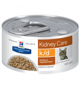 Hill's - Prescription Diet Feline - k/d Stew - 82g x 6 lattine
