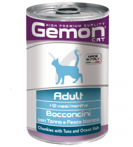 Gemon - Bocconi - 415 g x 24 lattine