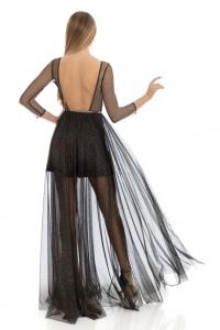 FELEPPA Camilla, abito in tulle con scollatura sulla schiena