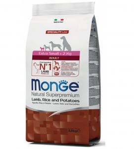 Monge - Superpremium - Adult Extra Small - 2,5 kg