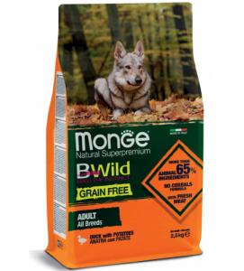 Monge - BWild Grain Free - All Breeds Adult 2.5 kg