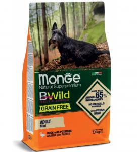 Monge - BWild Grain Free - Mini Adult 2.5 kg