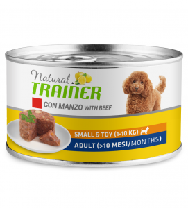 Trainer Natural - Small&Toy - Adult - 150g x 12 lattine