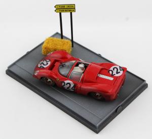 Ferrari 330 P4 Targa Florio 1967 Nino Vaccarella 1/43 Brumm