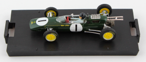 Lotus 25 Gp Belgio Spa 1963 1° Jim Clark #1 + Driver Wc F1 1/43 Brumm
