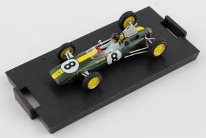 Lotus 25 Gp Italia 1963 1° Jim Clark #8 + Driver WC F1 1/43 Brumm
